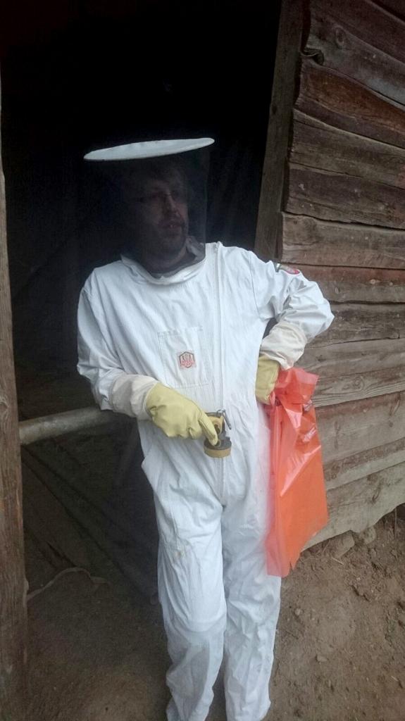 Bienenschutzanzug
